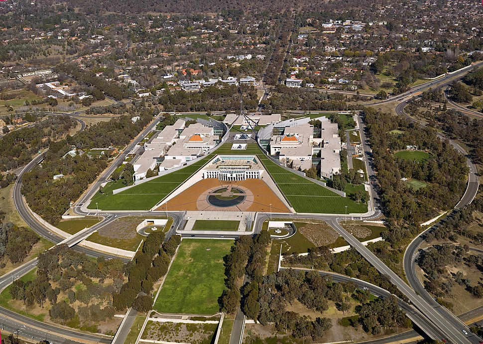 CSIRO ScienceImage 11533 Parliament House Canberra