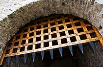 Cahir Castle Portcullis by Kevin King.jpg