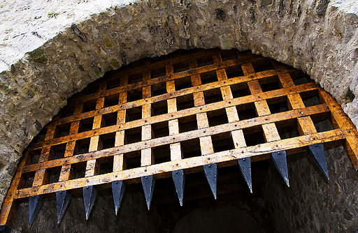 Cahir Castle Portcullis by Kevin King