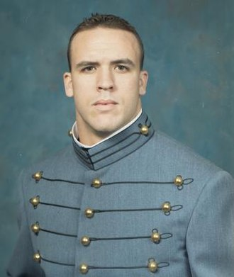 Caleb Campbell - Caleb Campbell as a cadet at West Point.