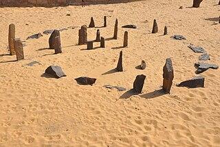Nabta Playa Region in the Nubian Desert