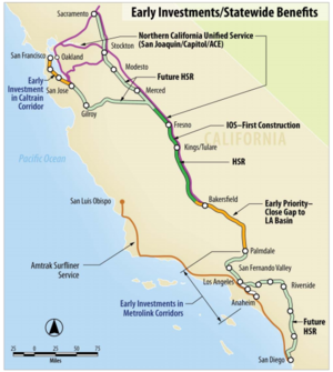 Image result for route for hyperloop california