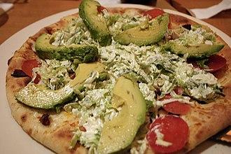 California Pizza Kitchen - A California Club pizza from CPK