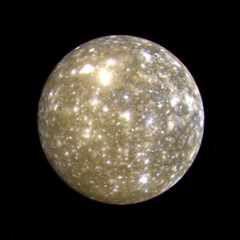 Callisto - PIA00457