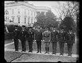 Calvin Coolidge and group outside White House, Washington, D.C. LCCN2016890630.jpg