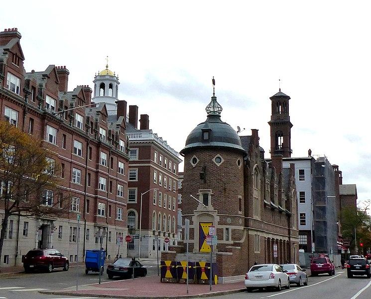 File:Cambridge - USA - Harvard Community - Garden - The Harvard Lampoon - St. Paul Church - panoramio.jpg