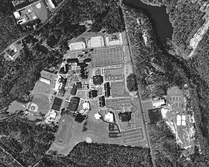 Camden County College - Aerial View of Camden County College in 1995
