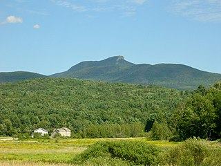 Camels Hump mountain in United States of America