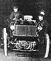Camille Jenatzy sur Snoek-Bolide Bolide, première Coupe G. Bennett (14 juin 1900).jpg