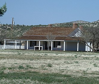 Camp Verde, Arizona - Image: Camp Verde Fort Camp Verde Doctor's & Surgeons Quarters 1871