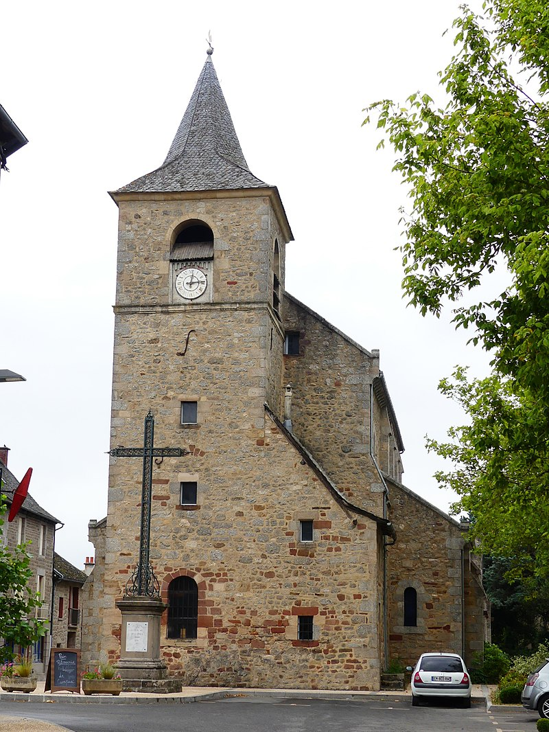 Campuac église clocher.jpg