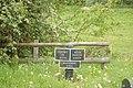 Canal milepost - geograph.org.uk - 806065.jpg