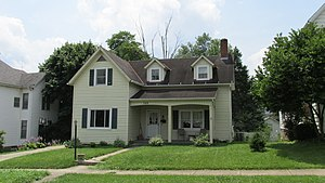 Milton Caniff - Birthplace of Milton Caniff located at 149 East North Street in Hillsboro, Ohio