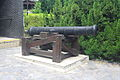 Cannon in front of the Yamen building.JPG