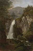 Cantius Dillis - Der Wasserfall von Golling - 10243 - Bavarian State Painting Collections.jpg