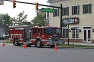 Canton Twp. Fire Rescue Truck