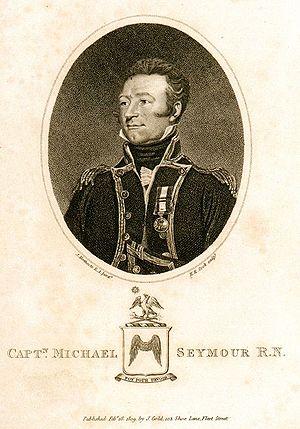 HMS Amethyst (1799) - Sir Michael Seymour, Ist Baronet
