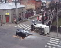 Car accident poland 2008 - Explain relevance of this image to the chapter content