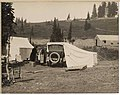 Car tent at Mount Rainier National Park, 1922 (MOHAI 6328).jpg