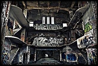 Carabanchel Prison - Carabanchel Prison's inside in 2008