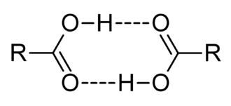 Carboxylic acid - Carboxylic acid dimers