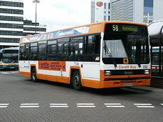 Leyland Lynx - Cardiff Bus Leyland Lynx at Cardiff Central bus station in June 2002