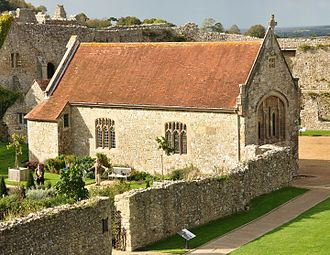 Church of St Nicholas in Castro, Carisbrooke - The exterior of the chapel