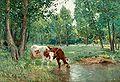 Carl Trägårdh-Pastoralt landskap med kor.jpg