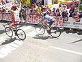 Carlos Barbero ganando en el Circuito de Getxo 2014.jpg
