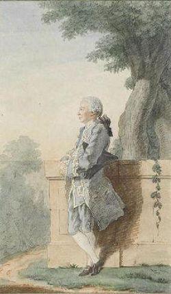Carmontelle, M.le comte de Broglie, musée Condé, Chantilly[n 1],[1], vers 1757-1758