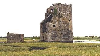 Desmond Rebellions - Carrigafoyle Castle