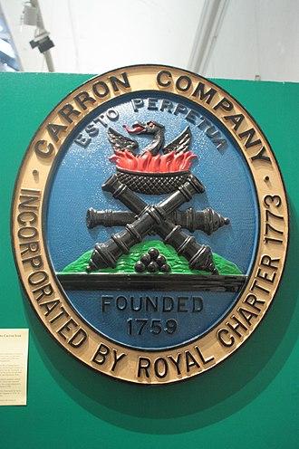 Carron Company - Carron Company insignia