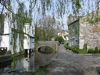 Cartmel village in United Kingdom