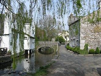 Cartmel - Image: Cartmell Village