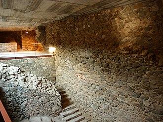 Castell de la Trinitat - Image: Castell Trinitat Innenaufnahme 3