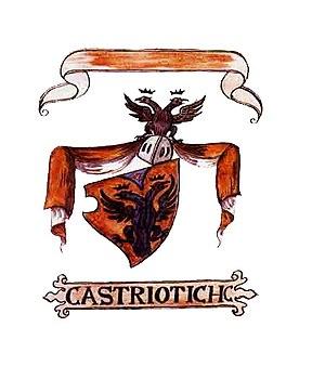 House of Kastrioti - Image: Castriotich (Fojnica Armorial)