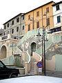 Castrocaro, scalinata con fontana 04.JPG