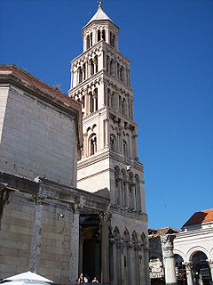 Cathedral of Saint Domnius Church in Croatia