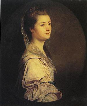 Cyrus Trapaud - Catherine Plaistow Trapaud, by Joshua Reynolds, circa 1761.
