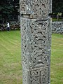 Celtic carvings in Croick Churchyard - geograph.org.uk - 704673.jpg