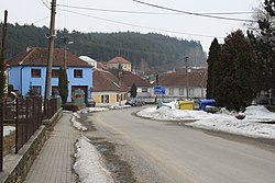 Center of Bochovice, Třebíč District.jpg