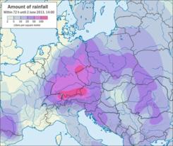 Rainfall Map Europe.2013 European Floods Wikipedia