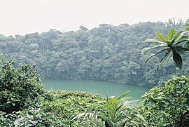 Cerro chato crater lake 2.JPG