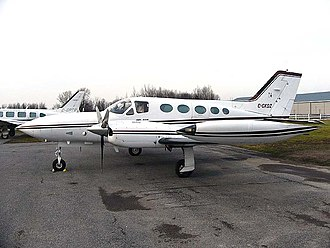 Cessna 421 - A Cessna 421B Golden Eagle