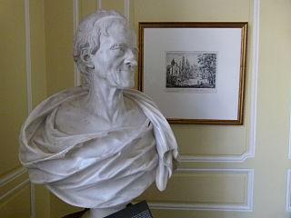 buste de Voltaire âgé