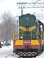 ChME3-3627 locomotive at Vodolaha Railway Station (02).jpg