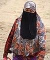 Cham Muslim Woman at Riverside - Kampong Cham - Cambodia (48328953527).jpg