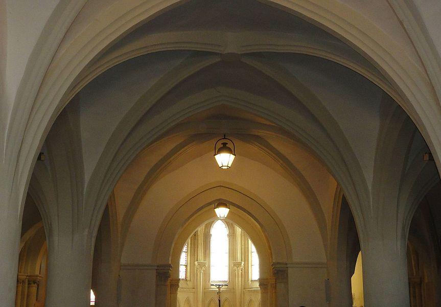 Chamouilley (Haute-Marne) église, nef vouté