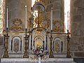 Champniers-Reilhac église Champniers tabernacle principal.JPG