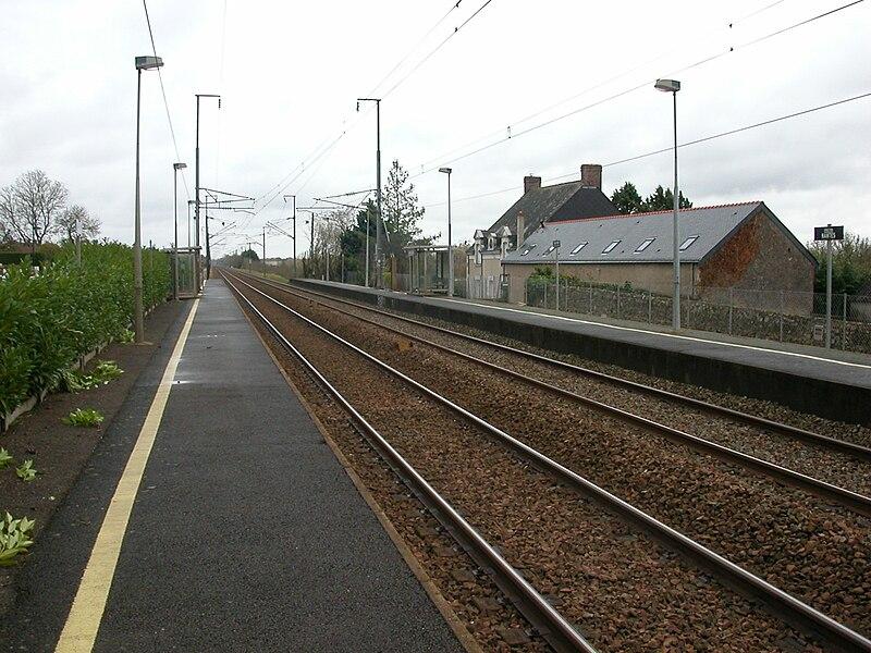 Train station of Champtocé-sur-Loire